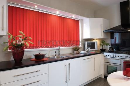 интерьер окна кухни