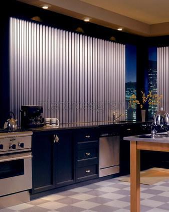 оформление окна в интерьере кухни
