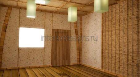 отделка стен в комнате