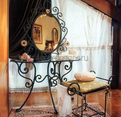 винтажное зеркало со столиком