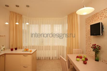 шторы пастельных оттенков