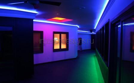 светодиоды в коридоре