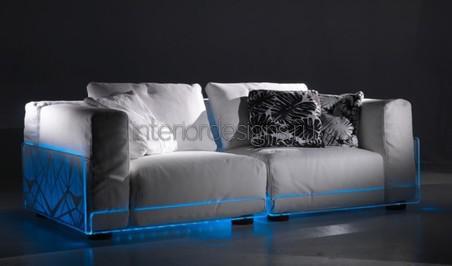 диван с подсветкой