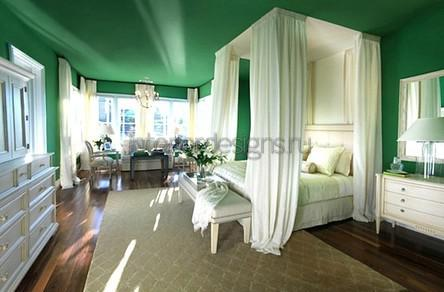 chambres aux couleurs vives
