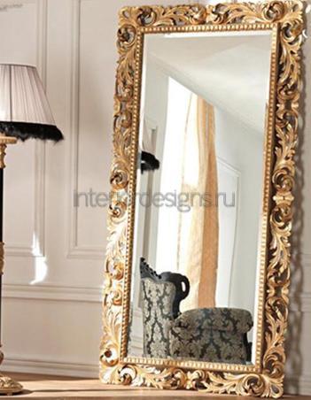 позолоченная рама для зеркала