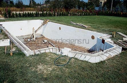 Бетонный водоем своими руками технология строительства и