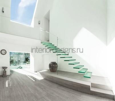 проект холла в стиле минимализм