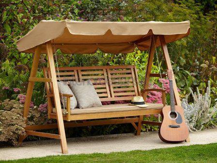 уютная садовая мебель