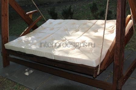 раскладной подвесной диван