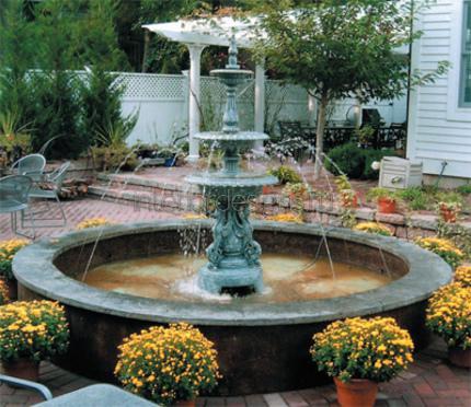 водный источник возле частного дома