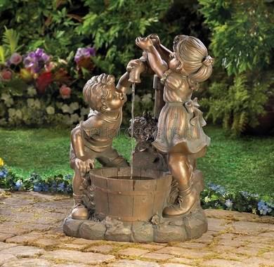 садовая скульптура из бронзы