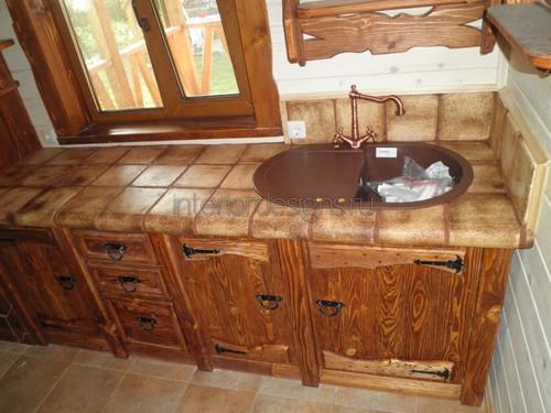 Кухонные столы из плитки своими руками
