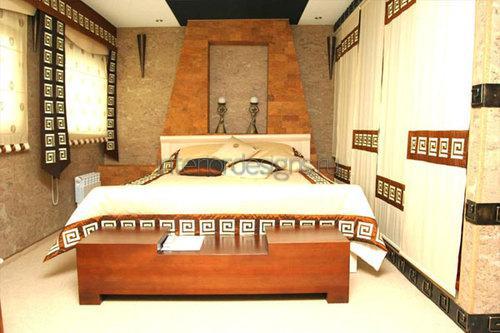 Египетский стиль в интерьере спальни
