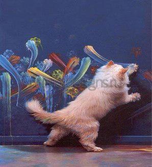 следы кошачьих лап