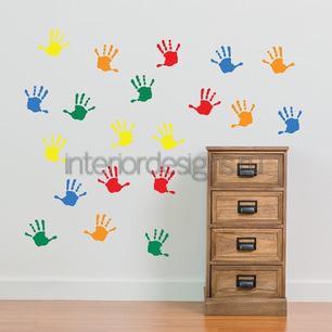 детские отпечатки рук
