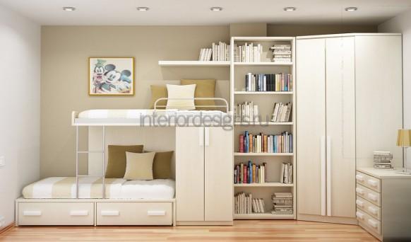 Дизайн маленькой спальни детской фото