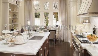 кухни с эркером дизайн