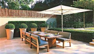 садовая мебель в ландшафтном дизайне
