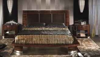 темная кровать