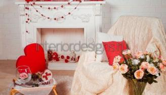 Декор комнаты ко Дню святого Валентина