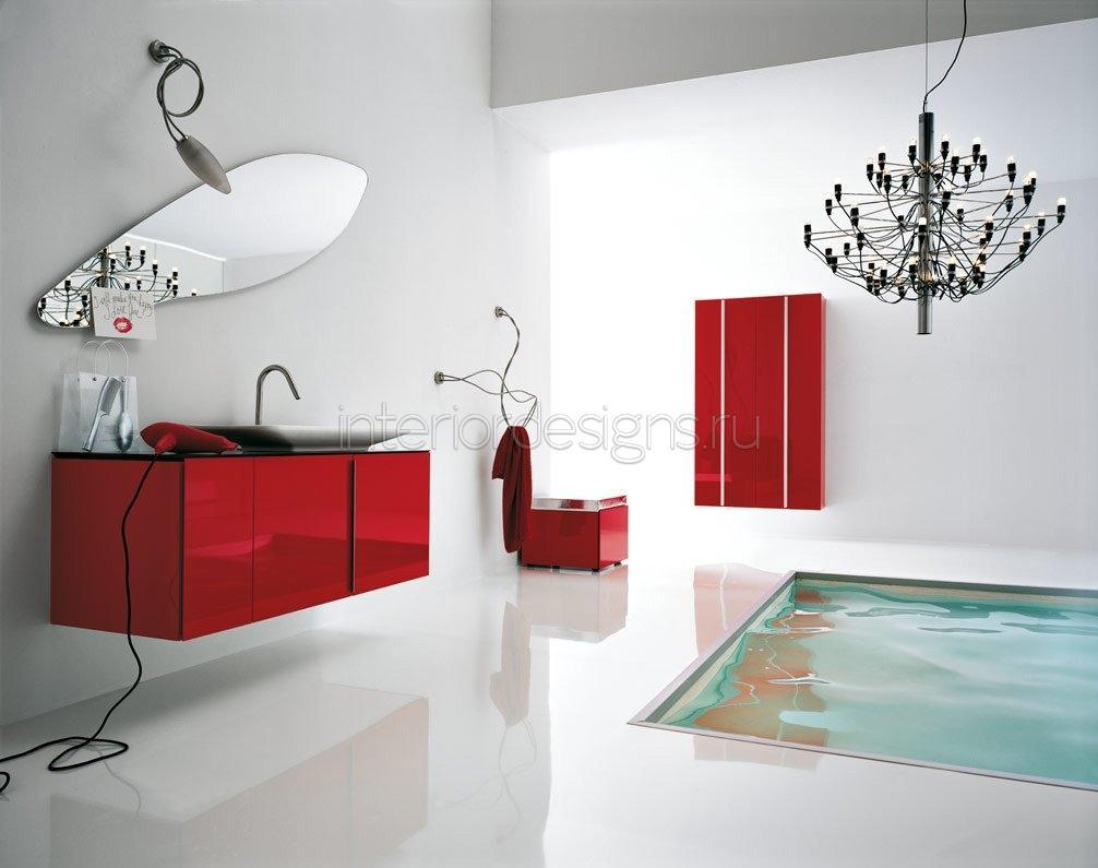 Идеи интерьера ванной комнаты