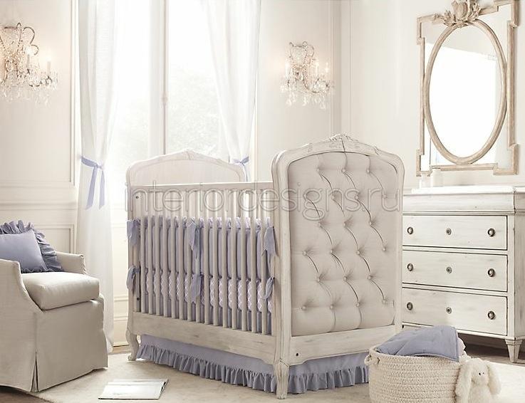 Дизайн детской для новорожденного