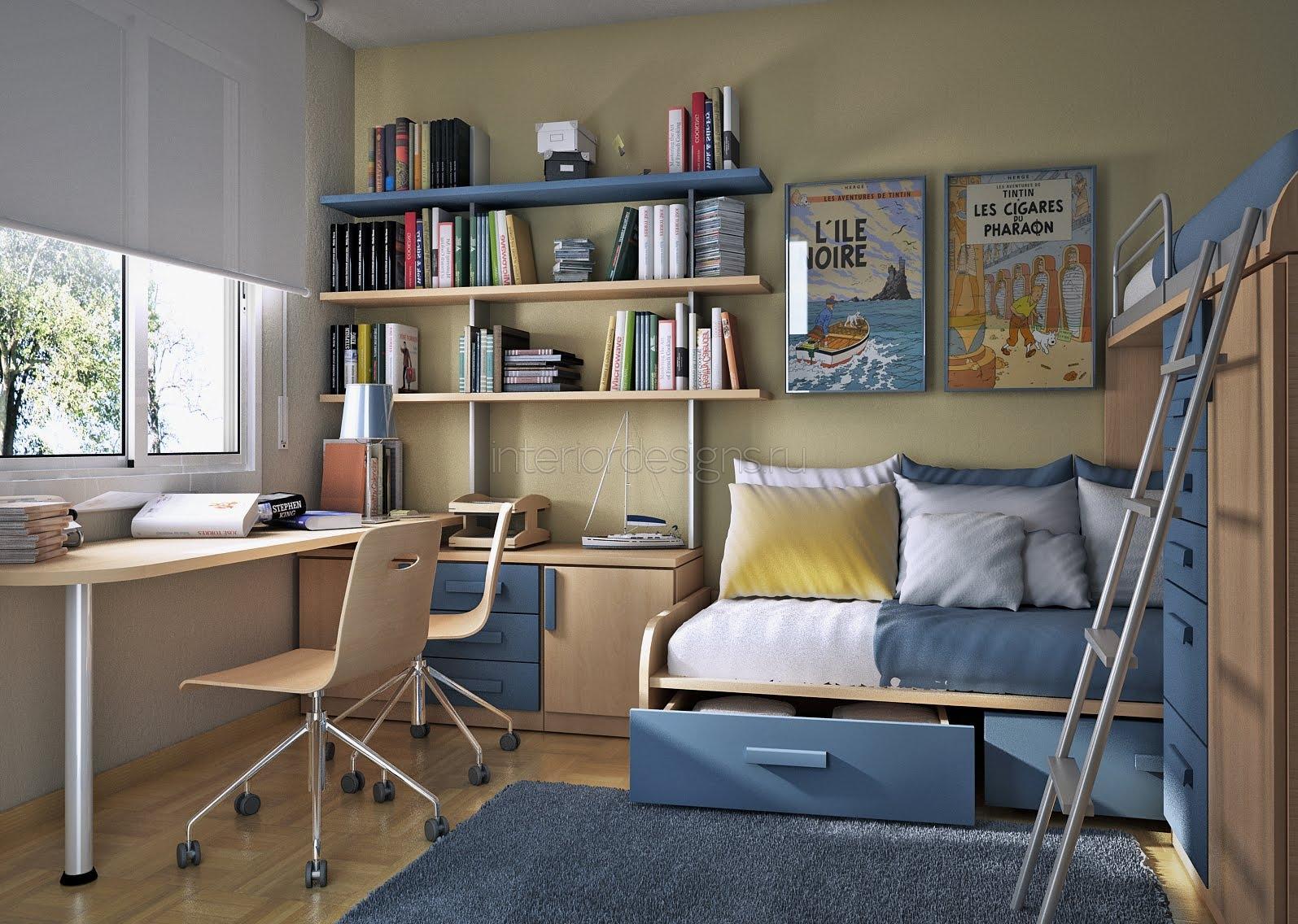 Дизайн интерьера детских комнат для мальчиков
