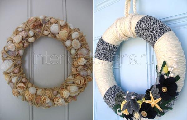 Новогодний декор своими руками для дома фото
