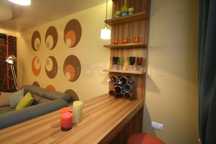 Стиль лофт в интерьере - идеи оформления гостиной в типовой .