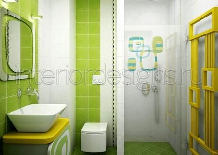 Зеленые ванные комнаты дизайн фото
