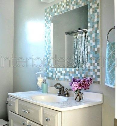 Декор мозаика в ванной фото