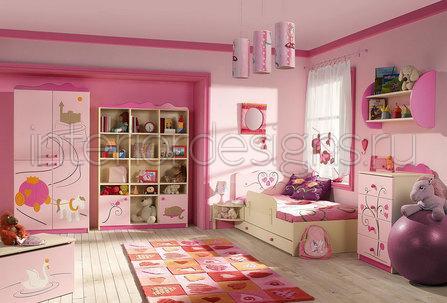 Картинки детская комната для девочки 9 лет