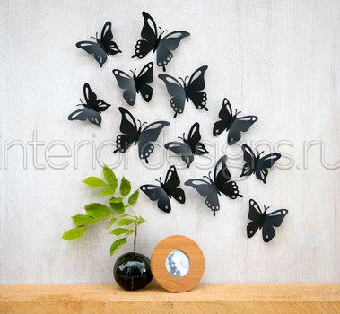 Butterfly wall design