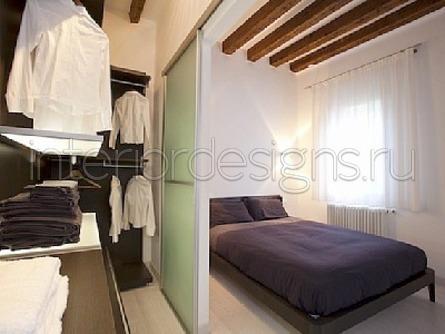 Дизайн спальни с гардеробной – функциональные системы ...  Дизайн Спальни С Угловой Гардеробной