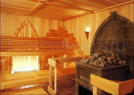 Отделка бани внутри (49 фото создаем уютную зону релакса) 56