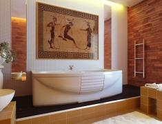 лучшие дизайны интерьеров ванных комнат