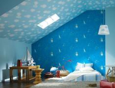 дизайн детской комнаты обои