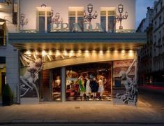 дизайн бутика Прада в Париже