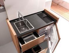 дизайн очень маленькой кухни