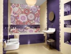 интерьер ванной комнаты в квартире
