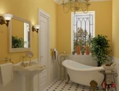 варианты и примеры дизайна красивых ванных комнат