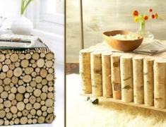 предметы интерьера из дерева