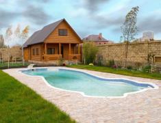 бассейн в ландшафтном дизайне