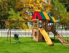 ландшафтный дизайн детской площадки