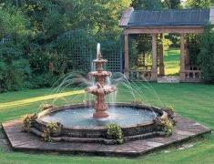 фонтан в ландшафтном дизайне