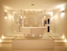освещение в дизайне ванной