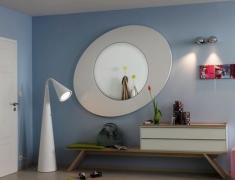 зеркало в дизайне прихожей