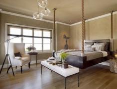 подвесная кровать в квартире
